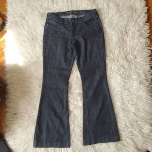 Express Eva Fit and Flare Jeans